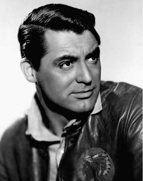 Cary Grant best movies career highlights headshot 1939.