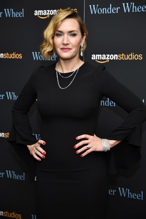Kate Winslet at the 2017 'Wonder Wheel' screening