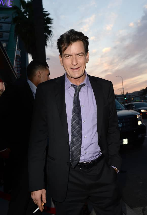 """Two and a Half Men"" star Charlie Sheen"