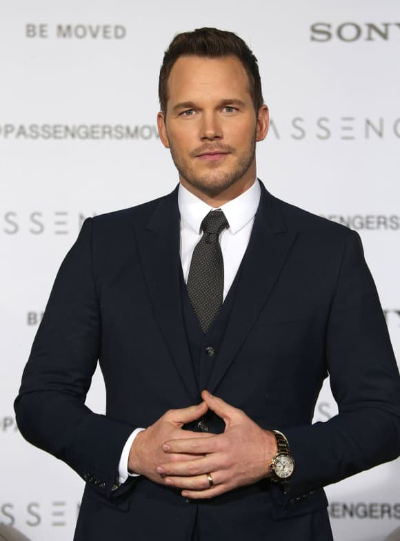 """Guardians of the Galaxy"" star Chris Pratt"
