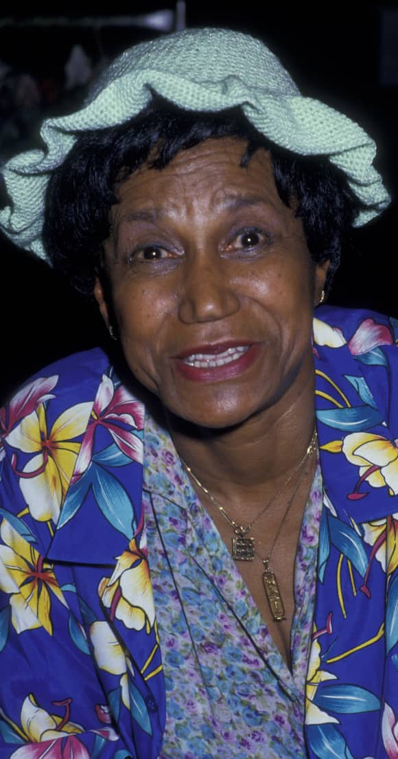 "Clarice Taylor played the grandmother in ""The Cosby Show"""
