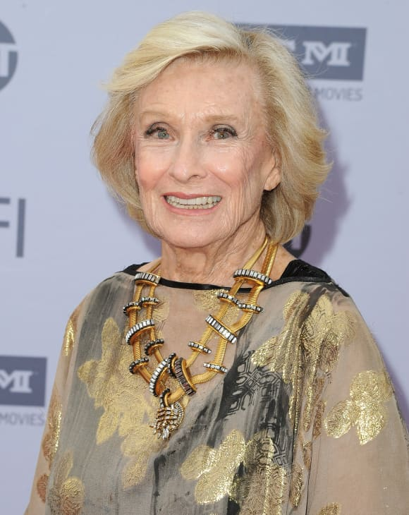 Cloris Leachman arrives at the 2016 American Film Institute Life Achievement Awards Honoring John Williams, in Hollywood, California, on June 9, 2016.