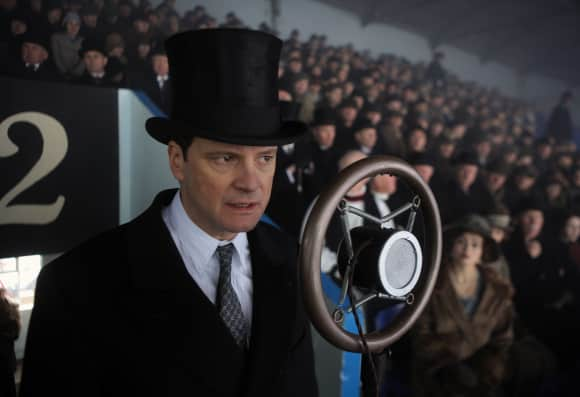 """Colin Firth in """"The King's Speech"""""""