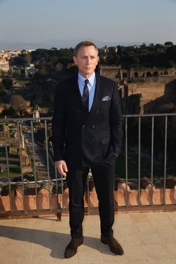 Daniel Craig used to have to sleep on park benches