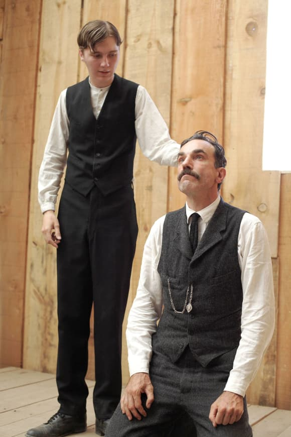 "Daniel Day-Lewis and Paul Dano in ""There Will Be Blood"""