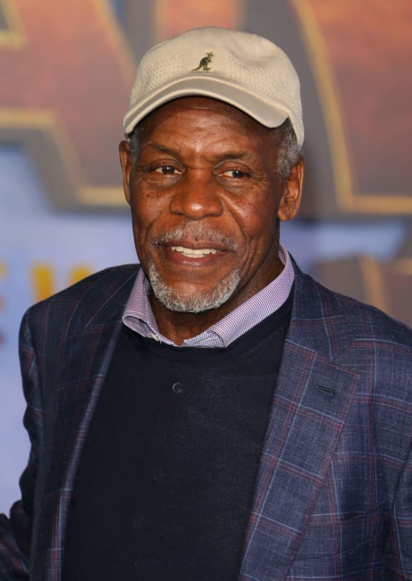 "Danny Glover arrives for the World Premiere of ""Jumanji: The Next Level"" at the TCL Chinese theatre in Hollywood on December 9, 2019"
