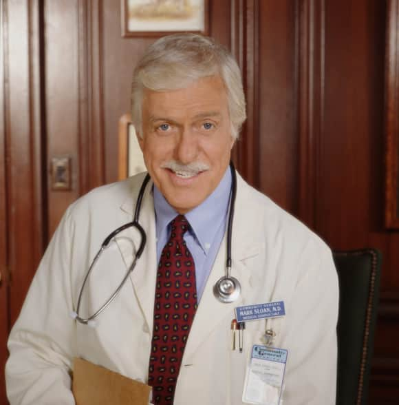 "Dick van Dyke as ""Dr. Mark Sloan"" in ""Diagnosis: Murder"""
