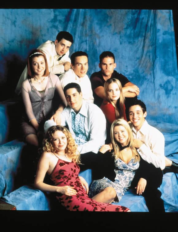 The American Pie Cast in 1999