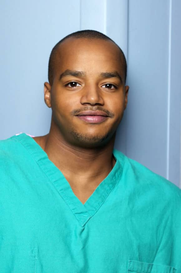 Donald Faison in 'Scrubs'