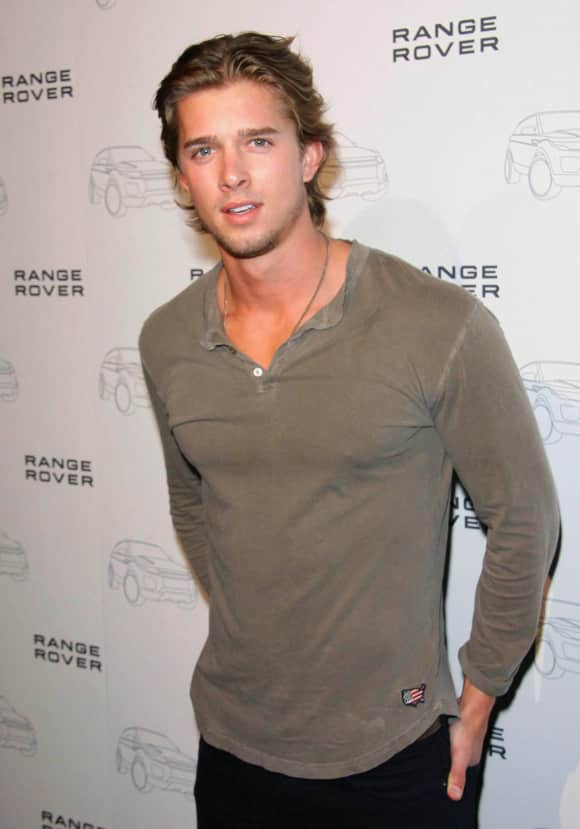 Drew Van Acker at an event in LA