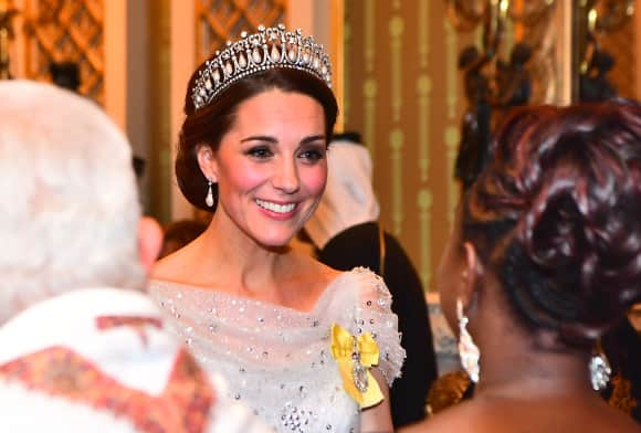 The Duchess of Cambridge stuns in Princess Diana's tiara