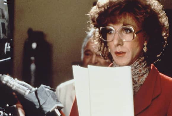 "Dustin Hoffman in ""Tootsie"" 1982"