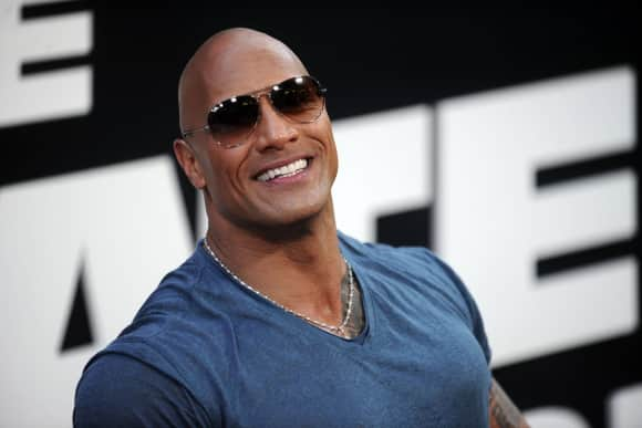 "Dwayne ""The Rock"" Johnson starred in ""The Fast and the Furious"""