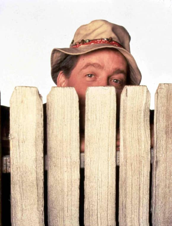 "Earl Hindman as ""Wilson"" in 'Home Improvement'"