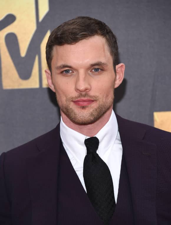 Ed Skrein at the MTV Movie Awards