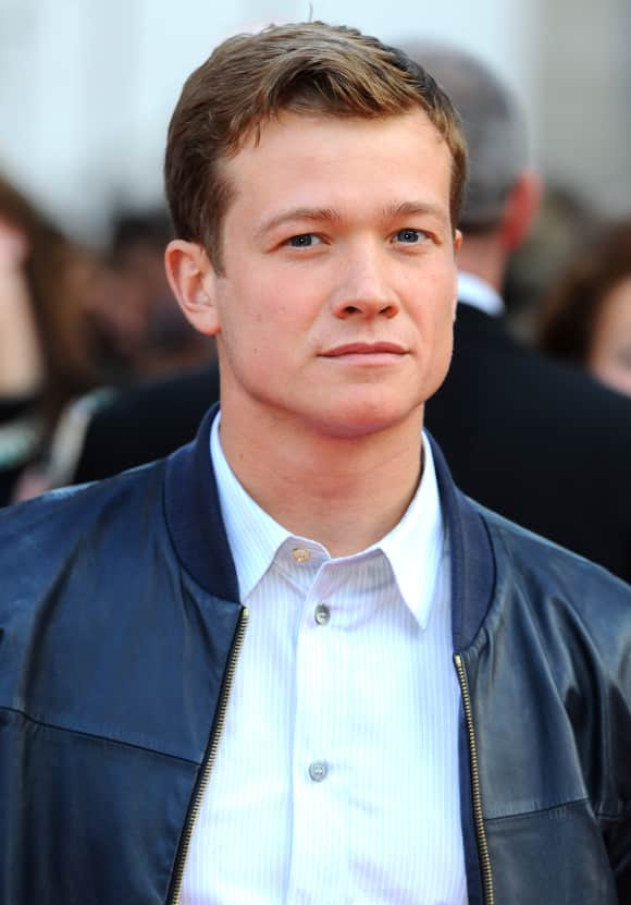 """Edward Speleers played """"Jimmy"""" in """"Downton Abbey"""""""