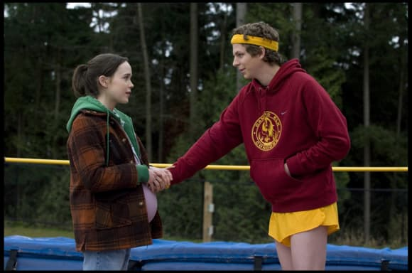 "Michael Cera and Ellen Page in ""Juno"""