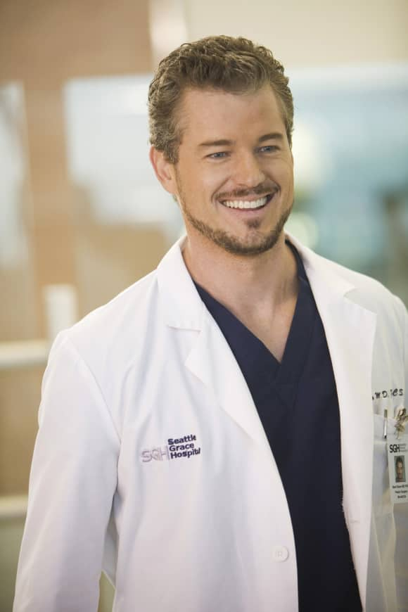 "Eric Dane as ""Dr. Mark Sloan"" in ""Grey's Anatomy"""