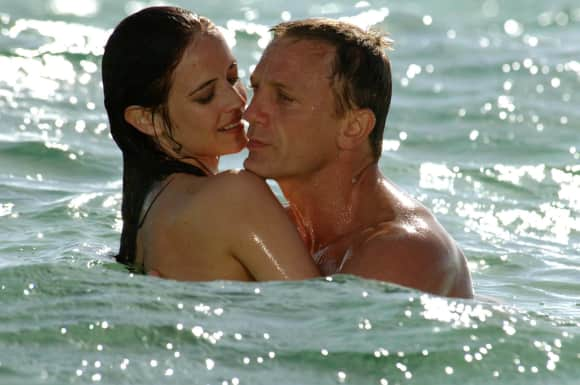 Eva Green and Daniel Craig