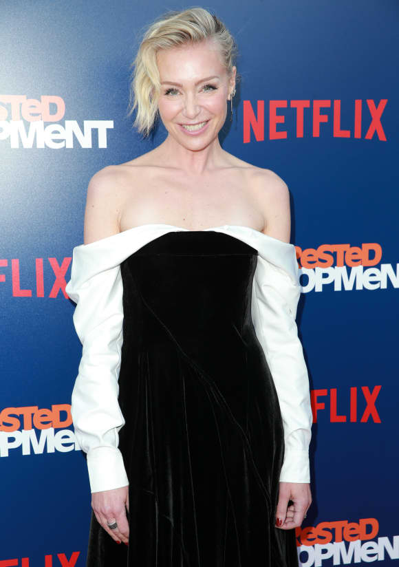 Portia de Rossi attending the premiere of Netflix's 'Arrested Development' season 5