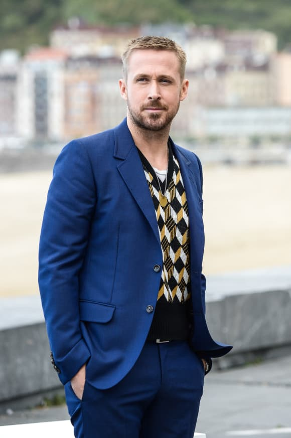 Ryan Gosling attending the 66th San Sebastian Film Festival in 2018