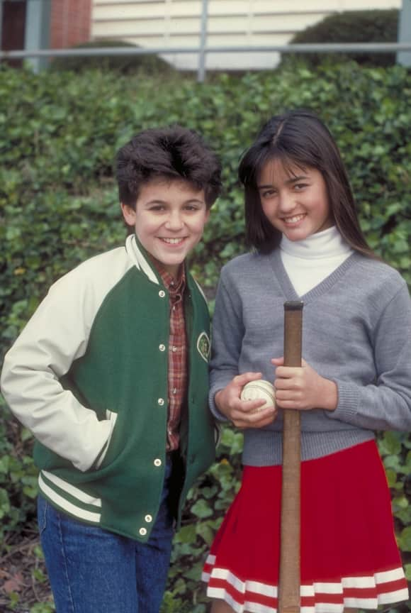 """Fred Savage and Danica McKellar in """"The Wonder Years"""""""