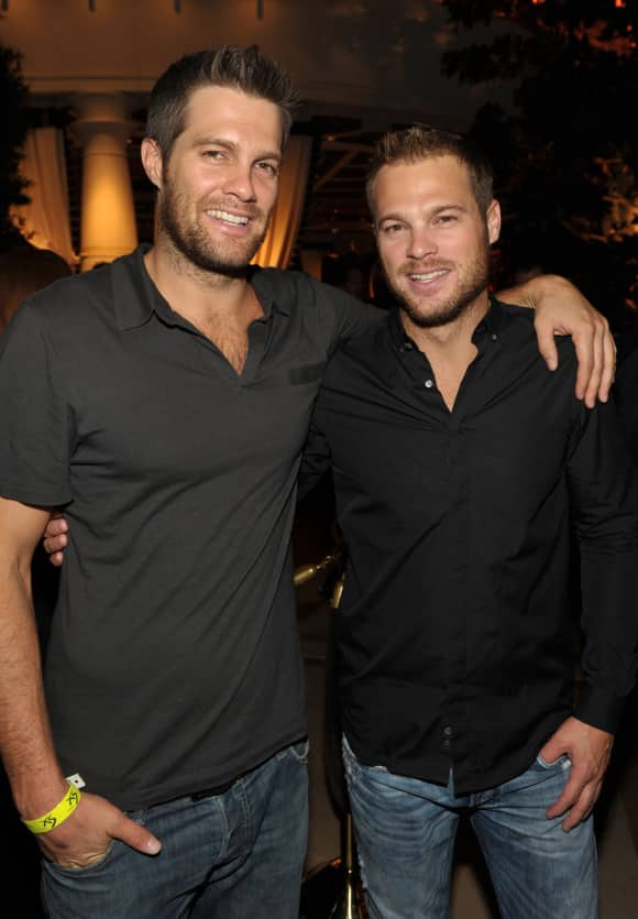 Geoff Stults and George Stults