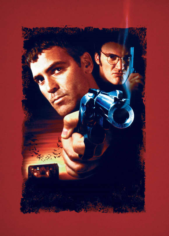 George Clooney and Quentin Tarantino in 'From Dusk Till Dawn'