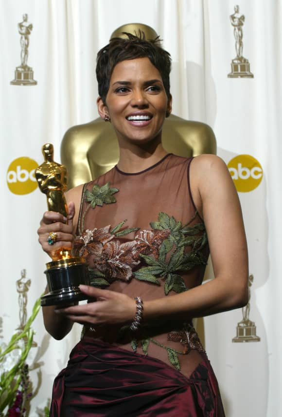 Halle Berry won the Academy Award for Best Actress for the film 'Monster's Ball' in 2002.