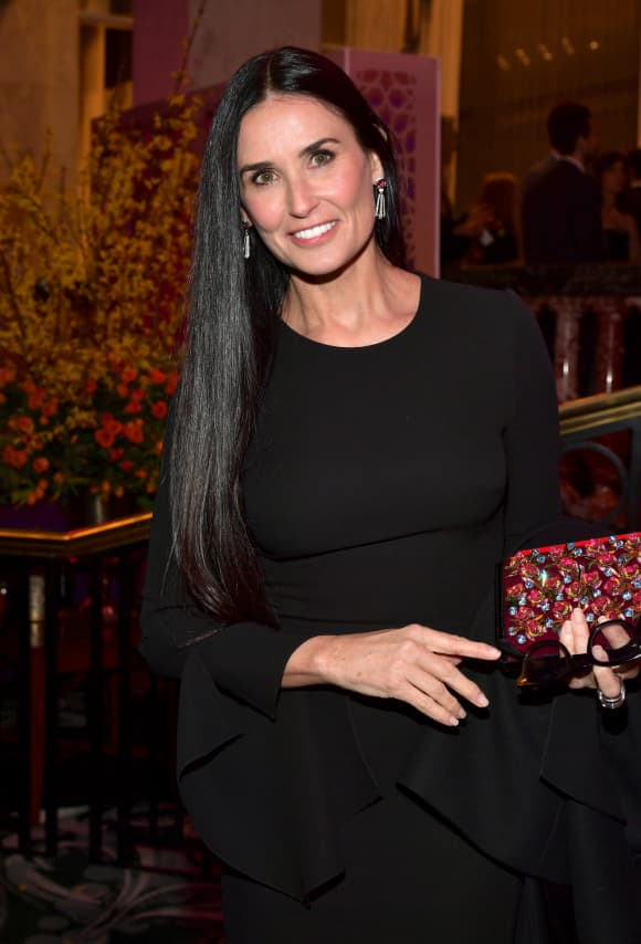 Demi Moore at The Women's Cancer Research Fund's 'An Unforgettable Evening Benefit Gala' in Beverly Hills, 2019.