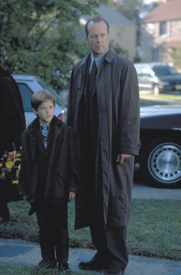"""Haley Joel Osment and Bruce Willis in """"The Sixth Sense"""""""
