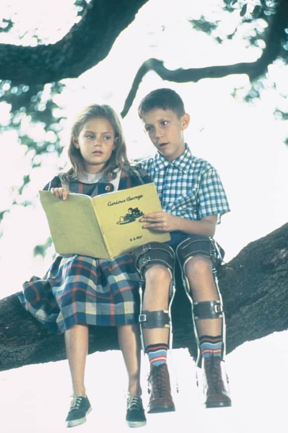 """Hanna R. Hall and Michael Conner Humphreys in """"Forrest Gump"""""""