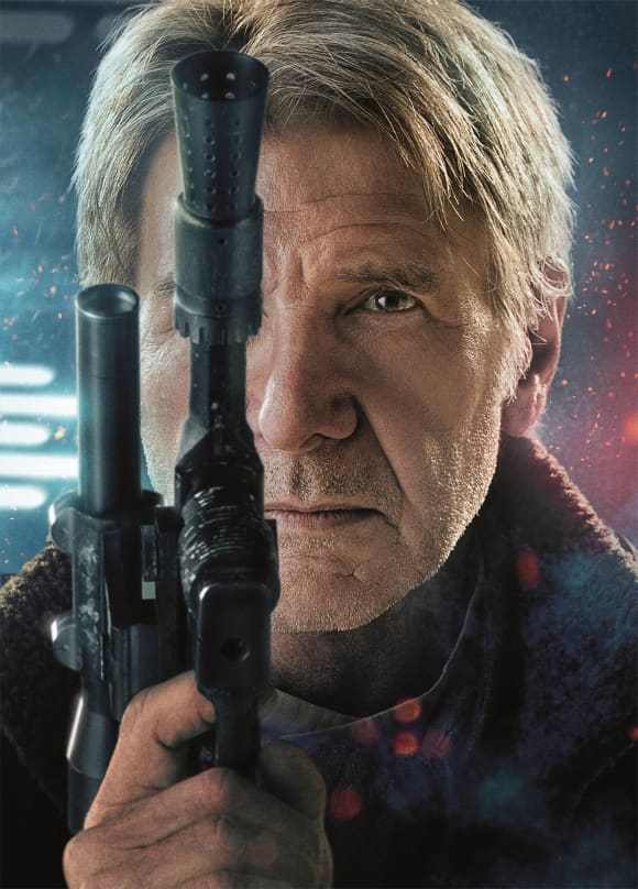 Harrison Ford in 'The Force Awakens'