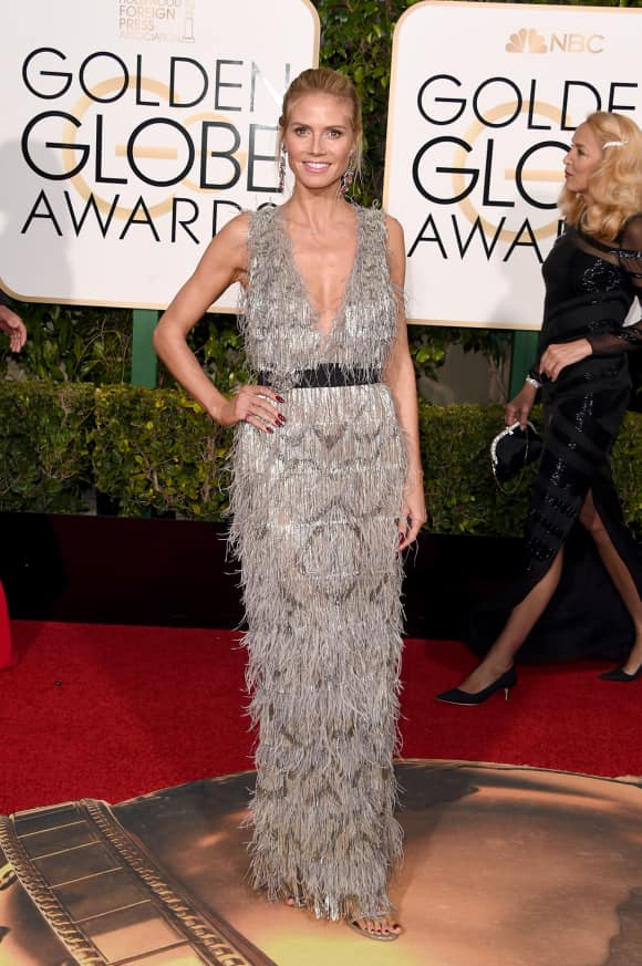 Heidi Klum saved two people from drowning!