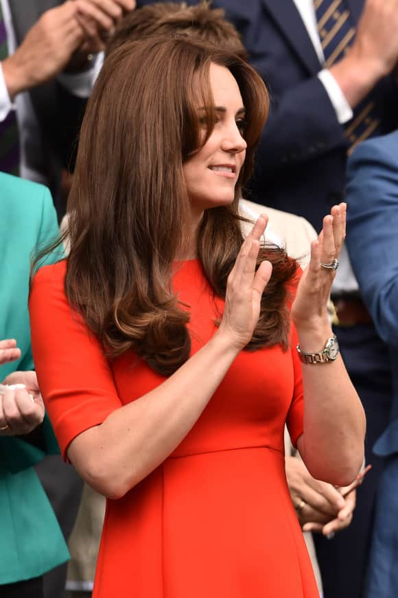 Duchess Catherine gorgeous in red