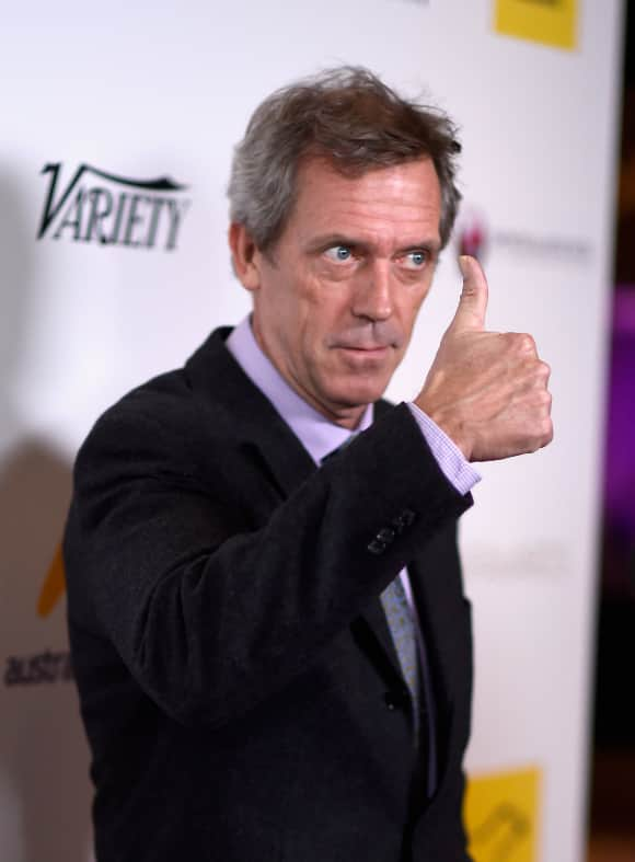 "Hugh Laurie is ""Dr. House"""