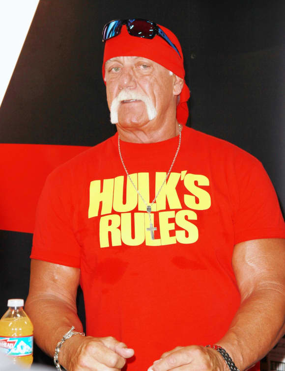 Hulk Hogan is one of the most famous wrestlers of all time