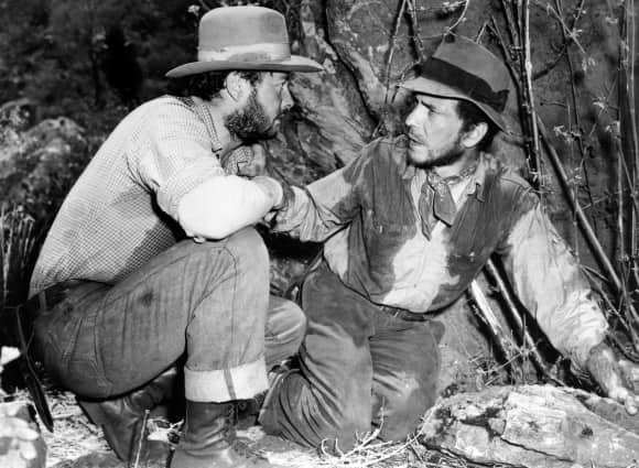 Humphrey Bogart and Tim Bolt The Treasure of the Sierra Madre famous quote