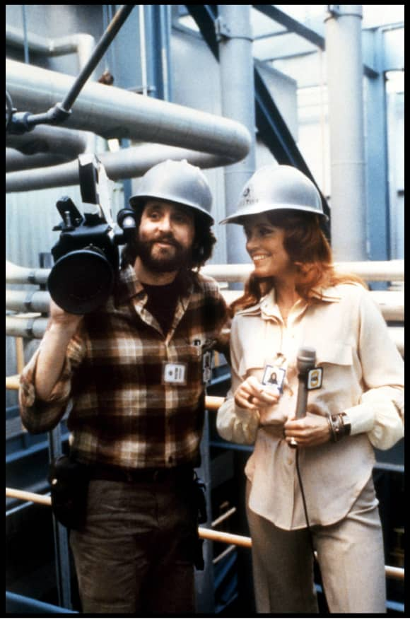 Jane Fonda and Michael Douglas in 'The China Syndrome'