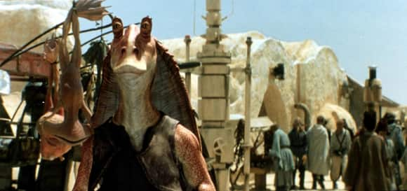"Jar-Jar Binks in ""Star Wars"""