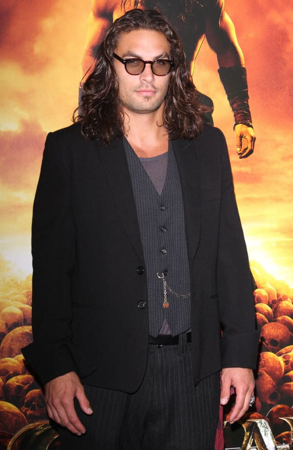 Jason Mamoa from Conan The Barbarian