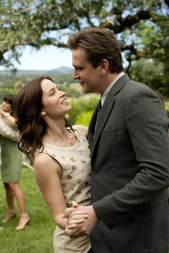 "Jason Segal and Emily Blunt in ""The Five-Year Engagement"""