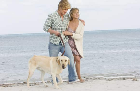 """Jennifer Aniston and Owen Wilson in """"Marley and Me"""""""