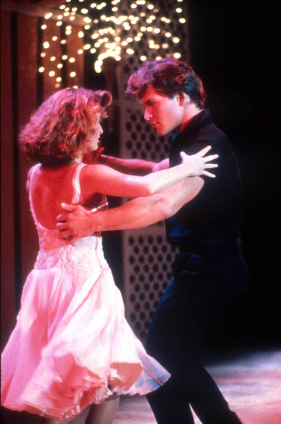 """Dirty Dancing"" Jennifer Grey and Patrick Swayze"