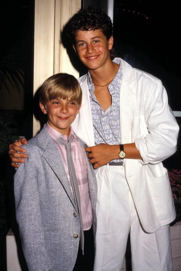 """Jeremy Miller and Kirk Cameron starred in """"Growing Pains"""""""