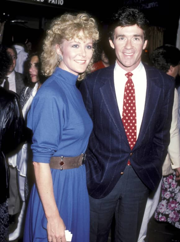 """Growing Pains"" stars Joana Kerns and Alan Thicke 1986"