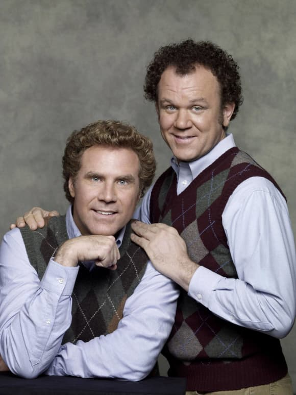 "John C. Reilly and Will Ferrell in ""Step Brothers"""