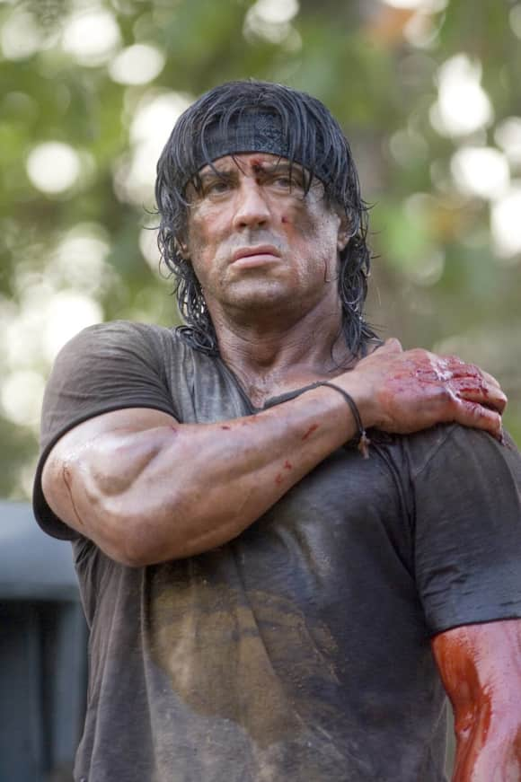 There was orginally only going to be one Rambo film