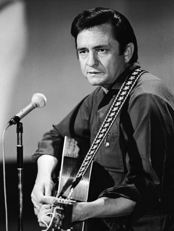 Johnny Cash and His Guitar