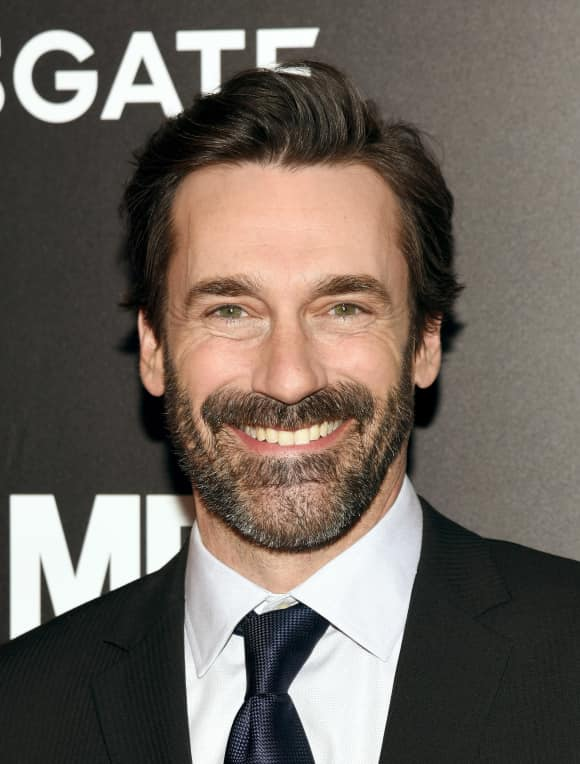 "Jon Hamm played ""Don Draper"" in ""Mad Men"""